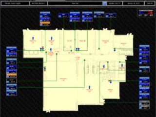 HVAC Floor Plan Graphic