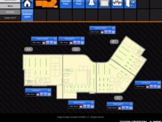lighting integration floor plan