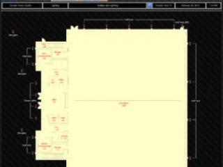 Lighting Floor Plan Graphic