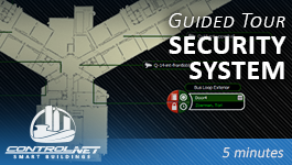 A guided tour of a ControlNET security BAS.